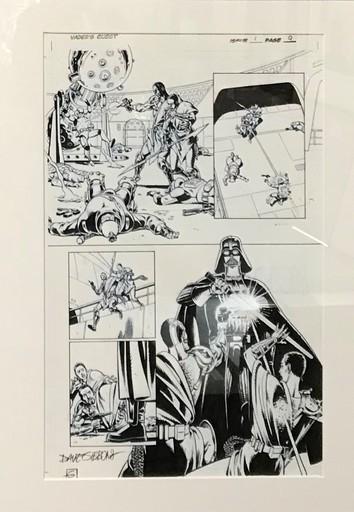 Dave GIBBONS - Drawing-Watercolor - Star Wars - Original Plate