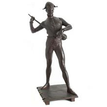 Paul DUBOIS - Escultura - Harlequin