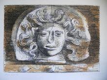 Eugene Gustavovitch BERMAN - Grabado - Medusa