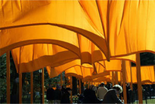 CHRISTO - Fotografia - The Gates New York  (2005)