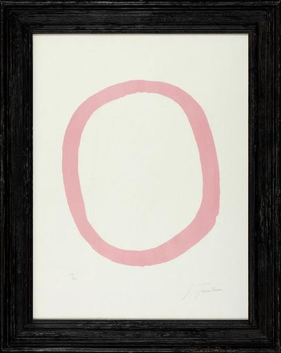 Lucio FONTANA - Estampe-Multiple - Nudo rosa