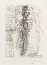 Pablo PICASSO - Print-Multiple - Femme nue à la Jambe pliée, Pl.8 from 'La Suite Vollard'
