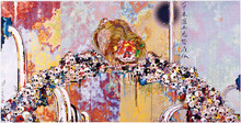 Takashi MURAKAMI (1962) - Of chinese lions, peonies, skulls and fountains
