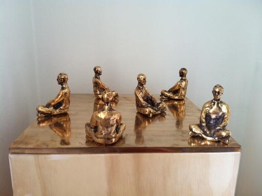 "Peter MARTENSEN - Sculpture-Volume - ""Clone Meditation"""