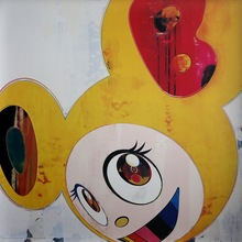 Takashi MURAKAMI (1962) - And then, and then, and then, and then, and then…..[Yellow}