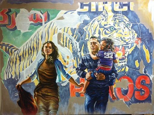 Ali HASSOUN - Painting - HEROES