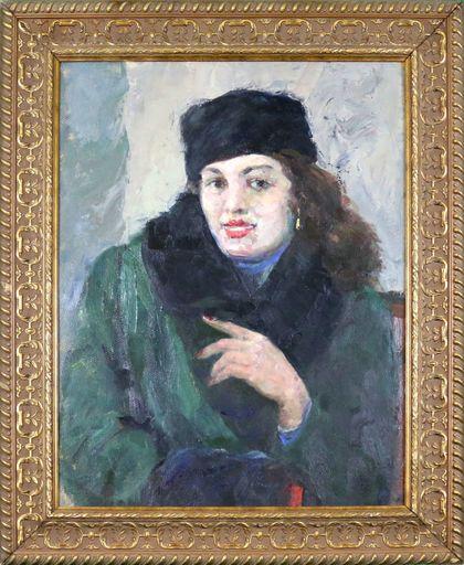 Losif Losifovich BELONOVICH - Painting - Stranger