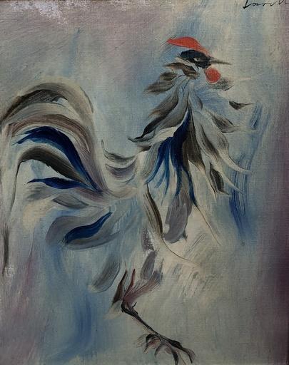 Henri LAVILLE - 绘画 - Le coq