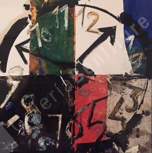 Manolo VALDÉS - Pintura - Reloj