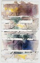 Paul KALLOS - Drawing-Watercolor - Sans titre (PK06))
