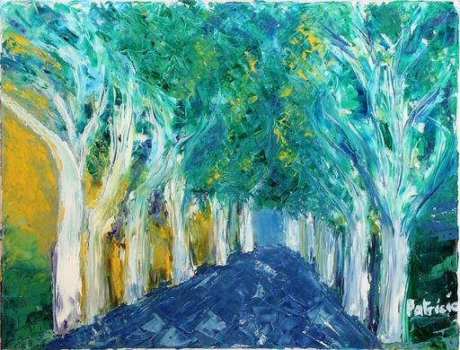 Patricia ABRAMOVICH - Pittura - Blue Road
