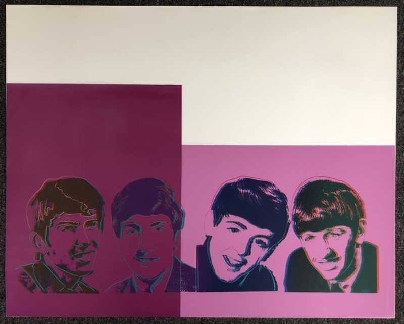 Andy WARHOL - Pittura - The Beatles (Unique)