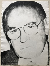 Andy WARHOL - Pintura - Portrait of Max Weishaupt