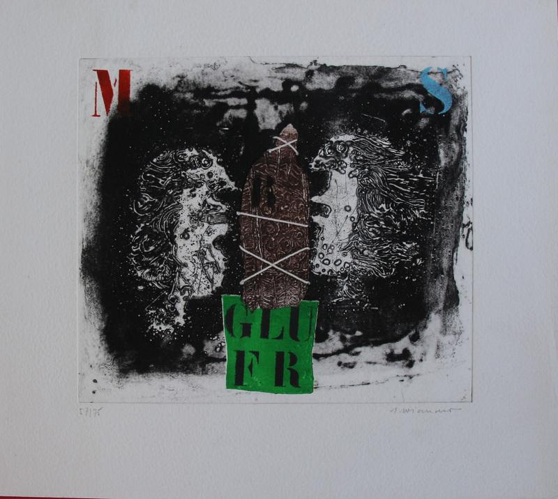 James COIGNARD - Estampe-Multiple - GLUER