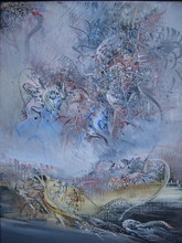 Marc JANSON - Pintura - HUILE SUR TOILE SIGNÉ HANDSIGNED OIL PAINTING ON CANVAS