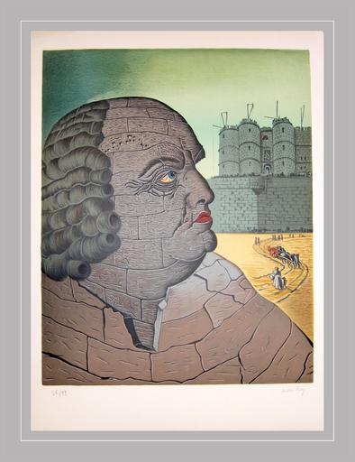 MAN RAY - Grabado - Marques de Sade