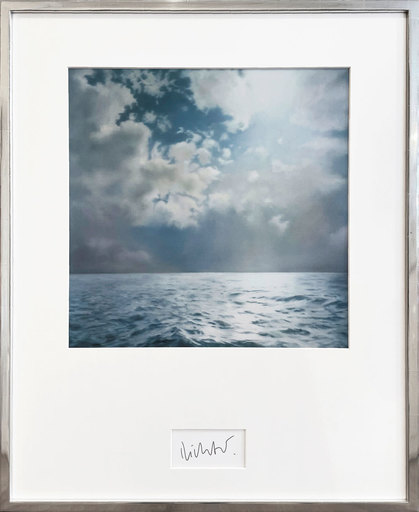 Gerhard RICHTER - Druckgrafik-Multiple - Seestück (Gegenlicht)