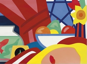 Tom WESSELMANN, Still Life with Blonde