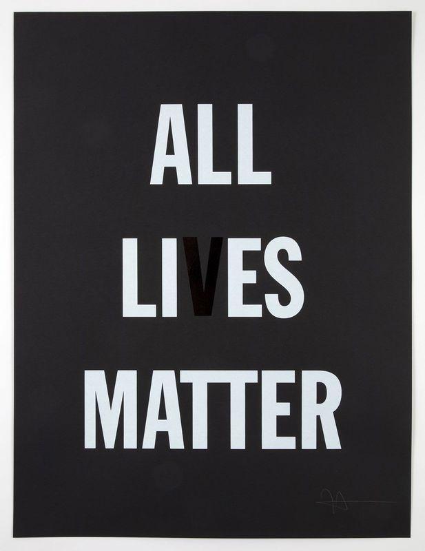 Hank WILLIS THOMAS - Print-Multiple - All Li es Matter