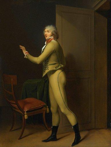 Louis Léopold BOILLY - Gemälde - Portrait du chanteur Jean Elleviou dans le Prisonnier