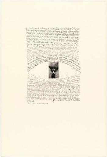Leon FERRARI - 版画 - Árbol embarazador