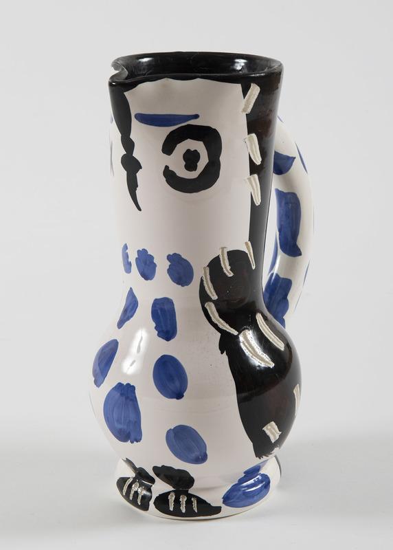 Pablo PICASSO - Ceramic - Cruchon hibou, (A.R.293)