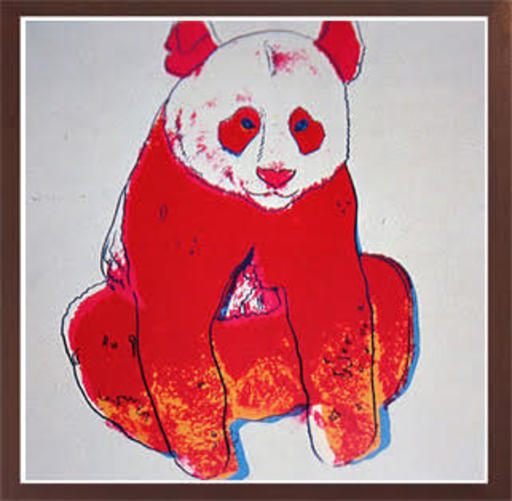 Andy WARHOL - Grabado - Giant Panda