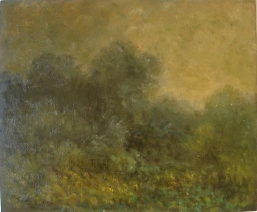 Georges D'ESPAGNAT - Painting - paysage (étude)