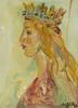 Walter SPITZER - Painting - Queen Ester (La Reine)