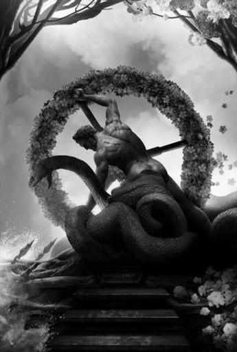 Ludovic BARON - Photo - Hercule et le serpent