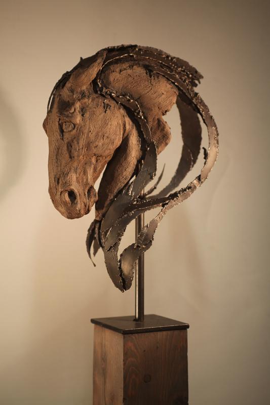 Jenny JACOTTET - Sculpture-Volume - Hercule
