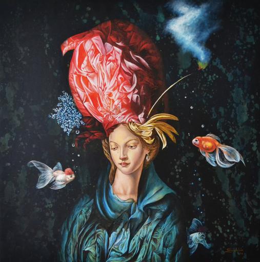 Carlos SABLÓN - Peinture - Madame Sublime