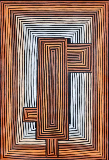 Adam GIBBS TJAPALTJARRI - Peinture - Peinture aborigène