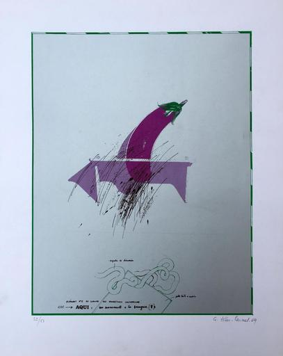 Gérard TITUS-CARMEL - Druckgrafik-Multiple - L'envol