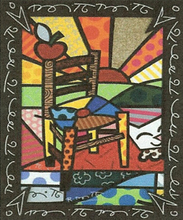 Romero BRITTO - Grabado - Gauguin´s Chair