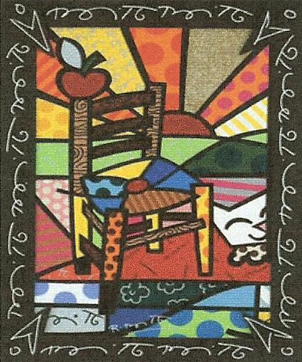 Romero BRITTO - Stampa Multiplo - Gauguin´s Chair