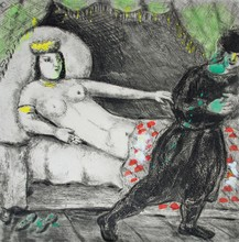 Marc CHAGALL - Estampe-Multiple - Potiphar's Wife