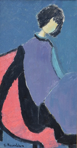 Sadie Skoletsky ROSENBLUM - Gemälde