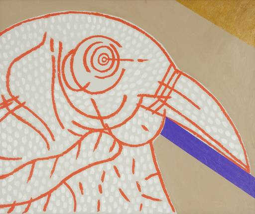Concetto POZZATI - Painting - Sentinella