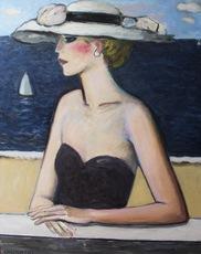 Jean-Pierre CASSIGNEUL - Painting - Devant la mer