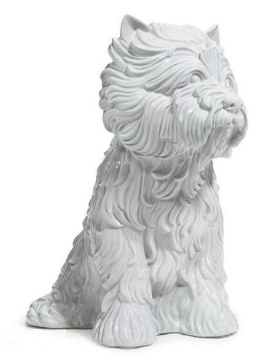 Jeff KOONS - Sculpture-Volume - Puppy (vase in the form of West Highland Terrier)