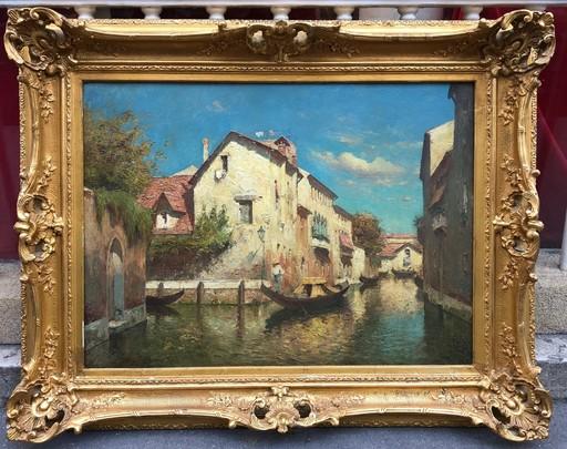 Eloi Noël BOUVARD - Painting - Venise