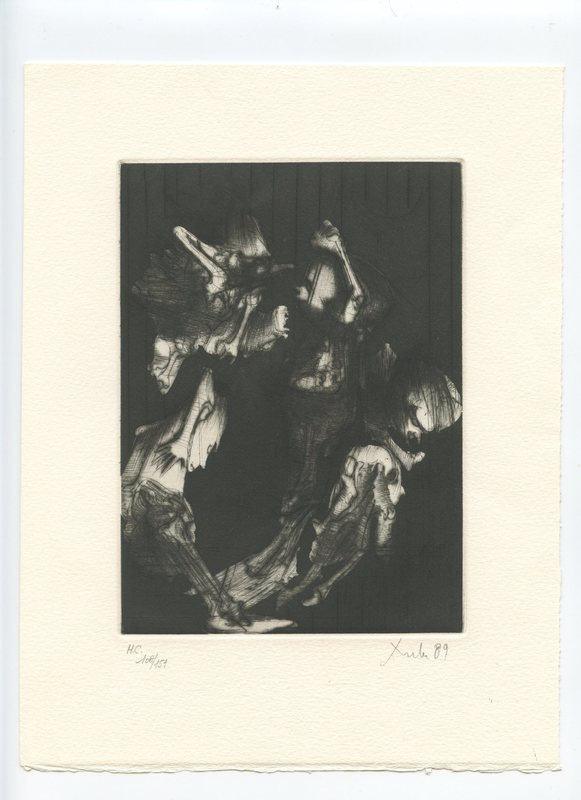 DADO - Grabado - GRAVURE 1989 SIGNÉE AU CRAYON NUM/151 HANDSIGNED ETCHING