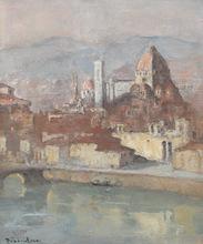 Louis Marie DESIRÉ-LUCAS - Pintura - Florence,  Santa Maria del Fiore