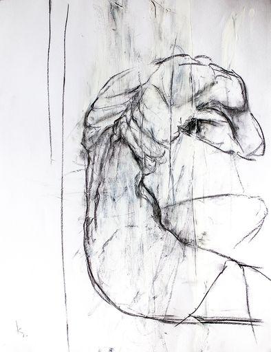 Guillaume KALT - Dibujo Acuarela - Les lamentations de Cronos    (Cat N° 6138)