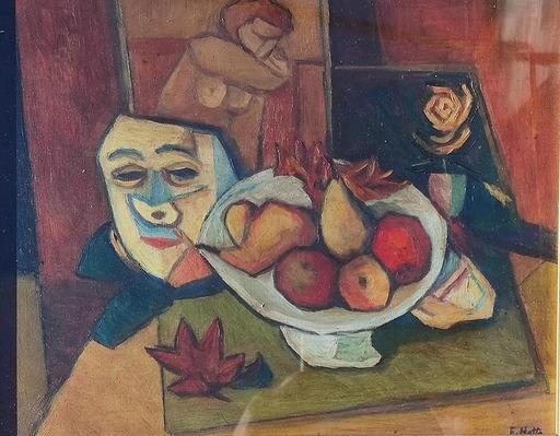 Emilio NOTTE - Painting - Senza titolo