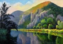 Paul Émile PISSARRO - Painting - Carriole à Cheval sur la Route du Vey