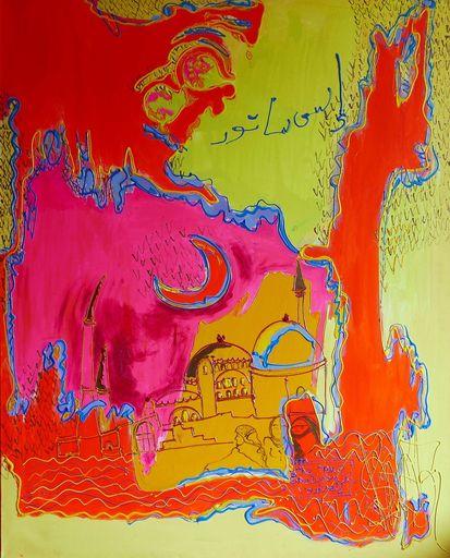 Isa SATOR - Painting - Thé pour Tous    (Cat N° 6754)
