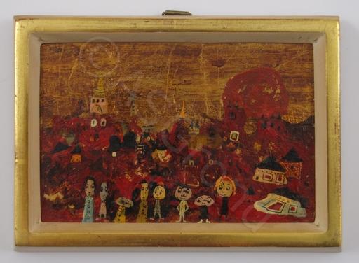 László BORNEMISZA - Painting - Toscana