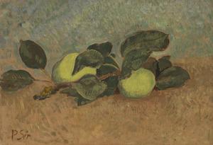 Paul SÉRUSIER - Peinture - Nature morte à la branche de pommier
